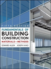 Fundamentals of Building Construction 5th edition 9780470074688 047007468X