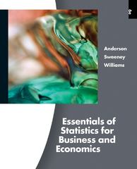 Essentials of Statistics for Business and Economics (with Online Content Printed Access Card) 6th edition 9780538754576 0538754575