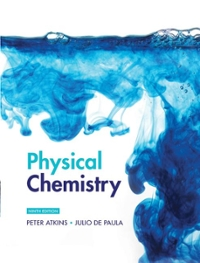 Physical Chemistry Volume 1: Thermodynamics and Kinetics 9th edition 9781429231275 1429231270
