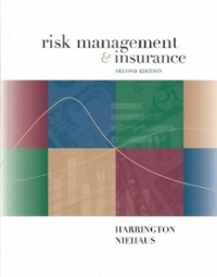 Risk Management and Insurance (2nd) edition 0072339705 9780072339703