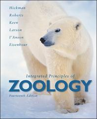 Integrated Principles of Zoology 14th edition 9780072970043 0072970049