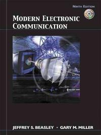 Modern Electronic Communication (9th) edition 9780132251136 0132251132