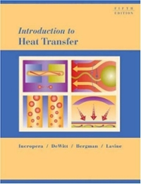 Introduction to Heat Transfer (5th) edition 0471457272 9780471457275
