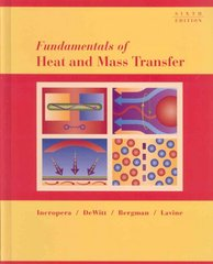 Fundamentals of Heat and Mass Transfer 6th Edition with IHT/FEHT 3.0 CD with User Guide Set 6th edition 9780470055540 0470055545