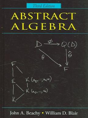 abstract algebra 3rd edition pdf