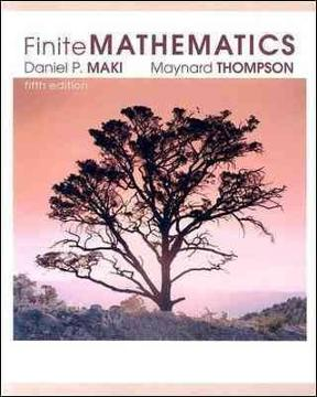 Finite mathematics and applied calculus, 5th edition: stefan waner.
