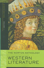 The Norton Anthology of Western Literature 8th Edition 9780393925722 0393925722