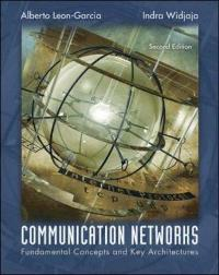 Communication Networks (2nd) edition 007246352X 9780072463521