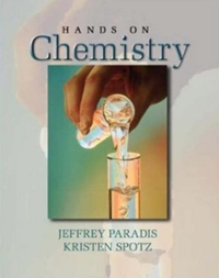 Hands on Chemistry Laboratory Manual (1st) edition 0072534117 9780072534115
