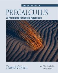 Precalculus (6th) edition 0534402127 9780534402129