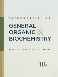 Introduction to General, Organic, and Biochemistry 10th edition 9780470598801 0470598808