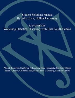 Workshop statistics student solutions manual discovery with data workshop statistics student solutions manual 4th edition 9780470547267 047054726x fandeluxe Gallery