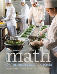 Math for the Professional Kitchen 1st Edition 9780470508961 0470508965