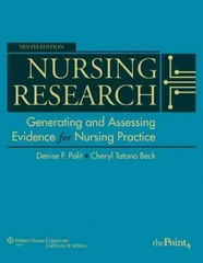 Nursing Research 9th Edition 9781605477084 1605477087