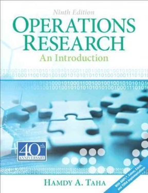 Operations research an introduction 9th edition rent 9780132555937 operations research 9th edition 9780132555937 013255593x fandeluxe Image collections