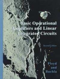Basic Operational Amplifiers and Linear Integrated Circuits (2nd) edition 0130829870 9780130829870