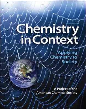 Chemistry in context applying chemistry to society 8th edition chemistry in context 8th edition fandeluxe Image collections