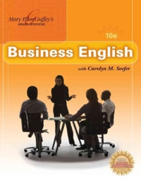 Business English (Book Only) 10th Edition Textbook Solutions | Chegg com