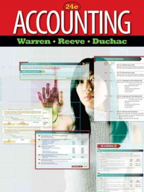 Accounting 24th edition rent 9780538475006 chegg accounting 24th edition 9780538475006 0538475005 view textbook solutions fandeluxe Image collections