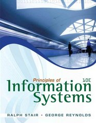 Principles of Information Systems (with Online Content Printed Access Card) 10th edition 9780538478298 0538478292