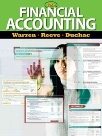 Financial Accounting (Available Titles Aplia) (12th) edition 0538478519 9780538478519