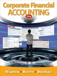 Corporate Financial Accounting (Available Titles Aplia) (11th) edition 0538480920 9780538480925