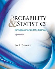 Probability and Statistics for Engineering and the Sciences 8th Edition 9780538733526 0538733527