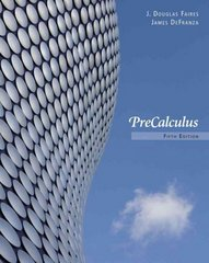 Precalculus 5th edition 9780840068620 084006862X