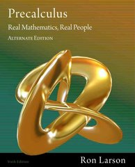 Precalculus 6th edition 9781111428433 1111428433