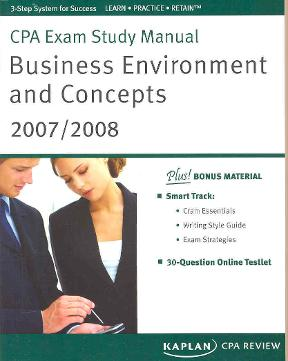 cpa exam study manual business environment and concepts 1st edition rh chegg com Gleim CPA Review coa review manual
