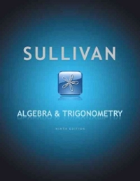 Algebra and Trigonometry (9th) edition 9780321716569 0321716566