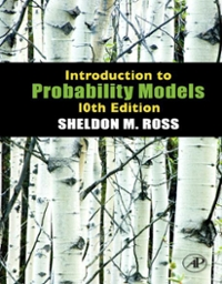 Introduction to Probability Models 11th edition 9780124081215 0124081215