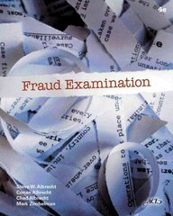 Fraud Examination 4th edition 9780538470841 0538470844