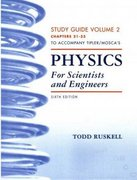 Physics for Scientists and Engineers Study Guide, Vol. 2 6th edition 9781429204101 1429204109