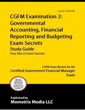 cgfm examination 2 governmental accounting financial reporting and rh chegg com Aga Stove Professional Accounting Certificates