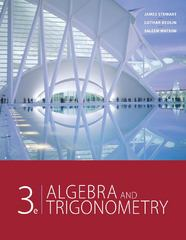 Algebra and Trigonometry 3rd edition 9780840068132 0840068131