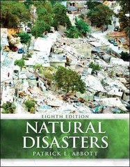 Natural Disasters 8th Edition 9780073369372 0073369373