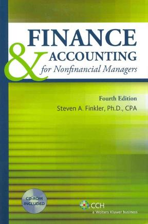 finance & accounting for nonfinancial managers pdf