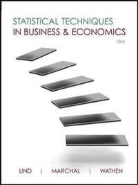 Statistical techniques in business and economics 16th edition statistical techniques in business and economics 16th edition 9780077639723 0077639723 fandeluxe Gallery