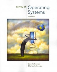 Survey of Operating Systems 3rd edition 9780073518176 0073518174
