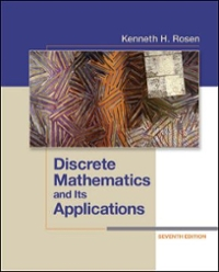 Discrete Mathematics and Its Applications 7th edition 9780073383095 0073383090
