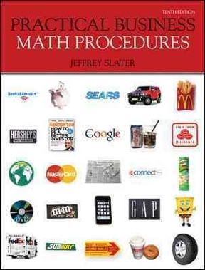 Jeffrey slater practical business math procedures 10th abebooks.