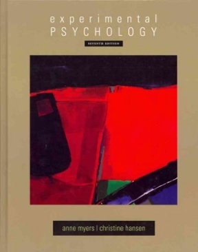 Experimental psychology 7th edition rent 9780495602316 chegg experimental psychology 7th edition 9780495602316 0495602310 fandeluxe Gallery