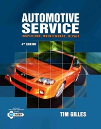 Automotive Service: Inspection, Maintenance, Repair (4th) edition 1111128618 9781111128616