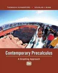 Contemporary Precalculus 5th edition 9780495108337 0495108332