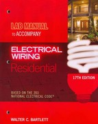 Lab Manual for Mullin/Simmons' Electrical Wiring Residential 17th edition 9781435498228 1435498224