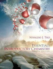 Introductory Chemistry Essentials 4th edition 9780321725998 0321725999