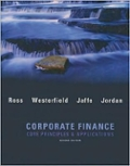 Corporate Finance Core Applications and Principles w S and P bind-in card
