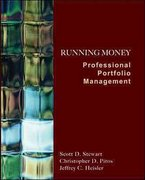 Running Money: Professional Portfolio Management 1st edition 9780073530581 0073530581