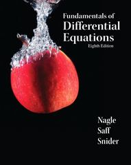 Fundamentals of Differential Equations 8th edition 9780321747730 0321747739